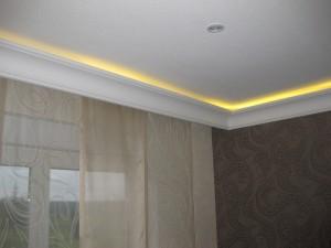 Indirekte Beleuchtung von Stuck mit LED