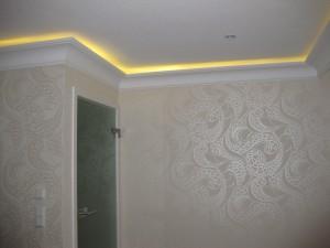 indirekte Beleuchtung Stuck - LED-Stripe